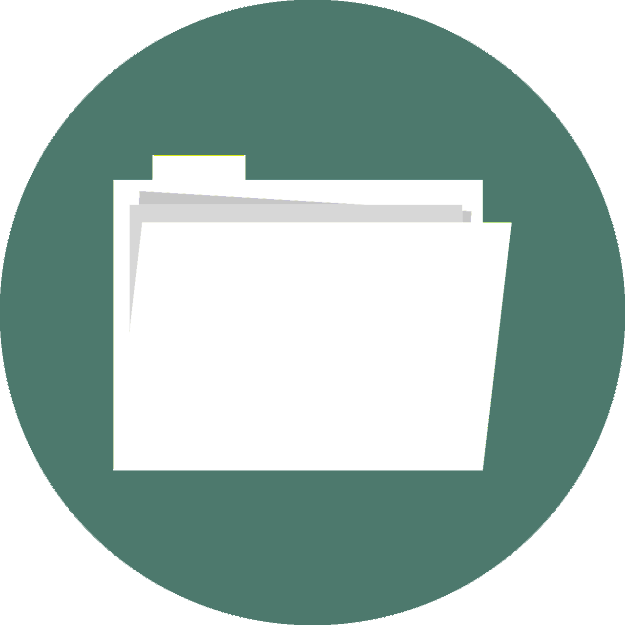 An icon of a file