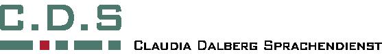 Claudia Dalberg Sprachendienst logo